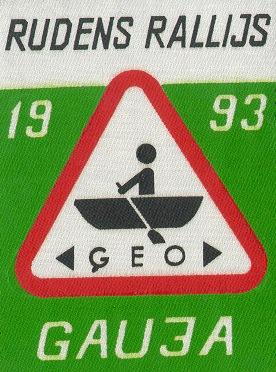 Rudens ģeorallijs Gauja 1993
