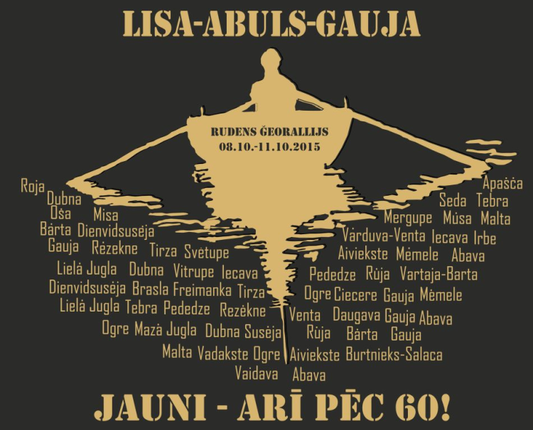 Rudens ģeorallijs Lisa-Abuls-Gauja 2015